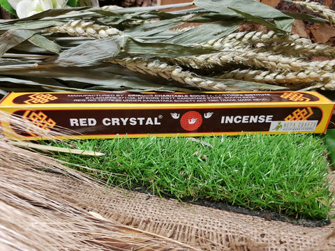 Red Crystal Incense - Pure & Simple Holistic
