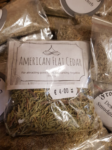 American Flat Cedar - Pure & Simple Holistic