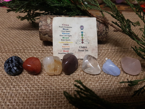 Chakra Stone Set - Pure & Simple Holistic