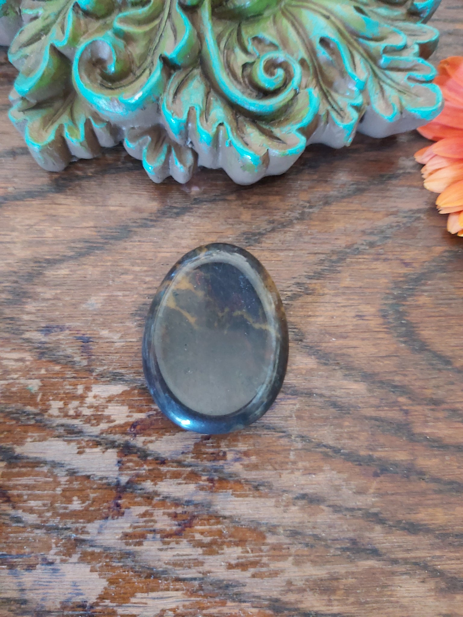 Blood stone Worry Stone