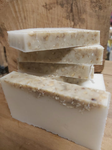 Cocoa Butter and Oatmeal Soap