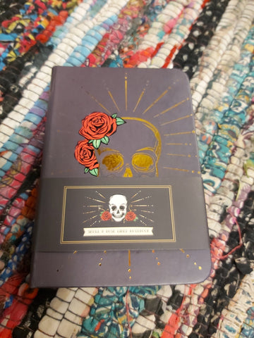 Skull and Roses Notebook