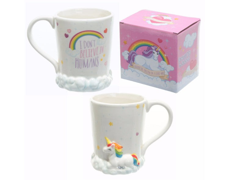 Enchanted Unicorn in Clouds Mug - Pure & Simple Holistic