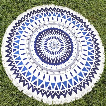 Round Mandala Throw