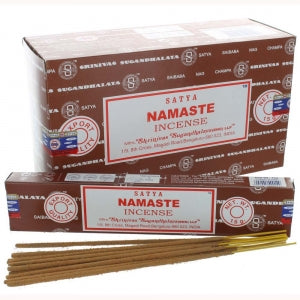 Satya Namaste Incense - Pure & Simple Holistic