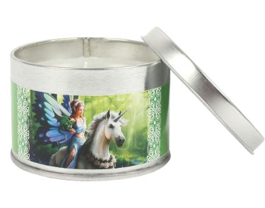 Realm of Enchantment Unicorn Candle Tin