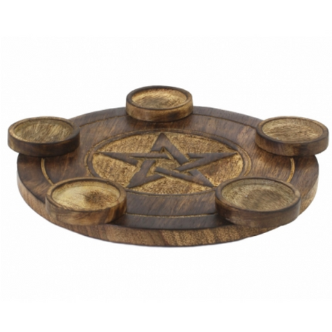 Pentacle Tealight Holder