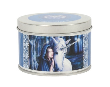 Solace Unicorn Candle Tin