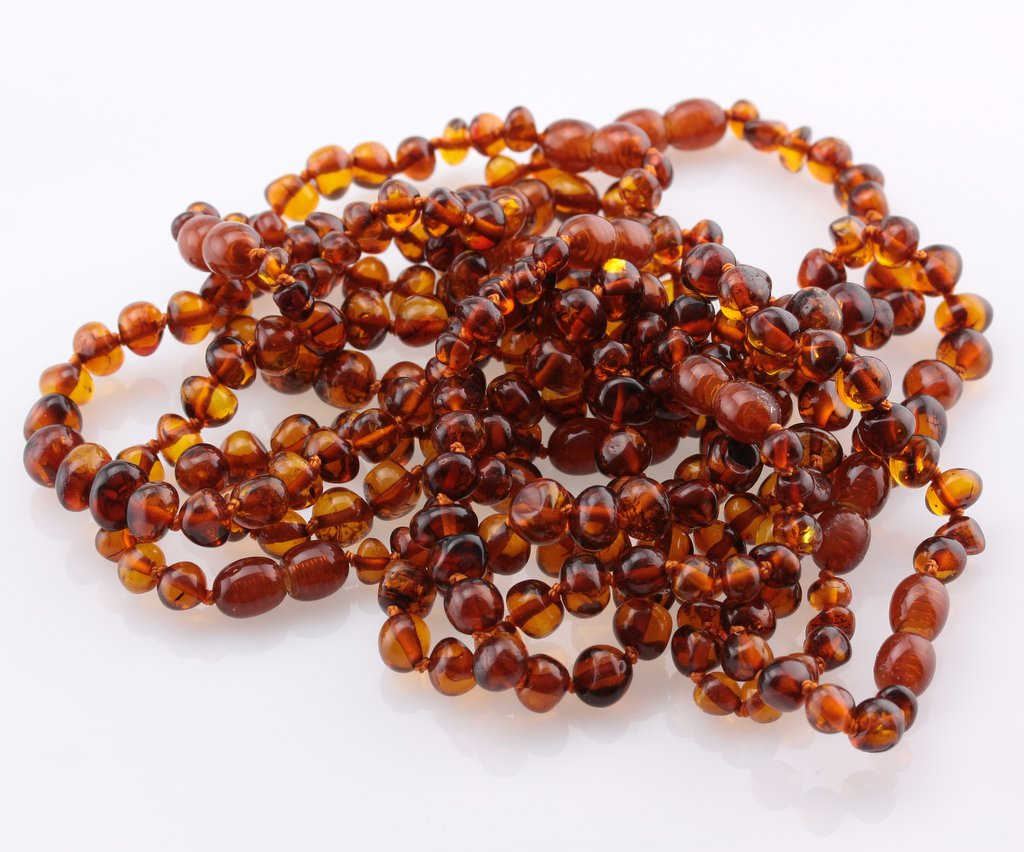 Baltic Amber Cognac Adult Bracelet - Pure & Simple Holistic