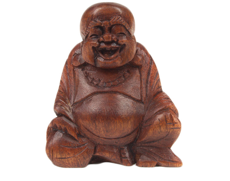 Wooden Buddha - Pure & Simple Holistic