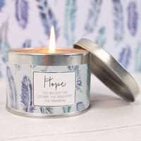 Hope Candle Tin