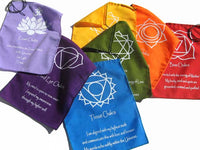 7 Chakras Flags - Pure & Simple Holistic