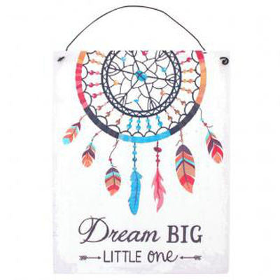 """Dream Big"" Plaque"