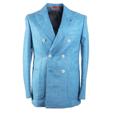 Isaia Lightweight Wool-Silk-Linen Sport Coat