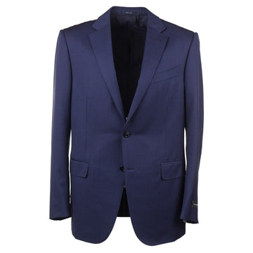 Ermenegildo Zegna Blue 'Multiseason' Wool Suit
