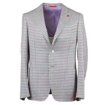 Isaia Slim-Fit Super 140s Wool Sport Coat