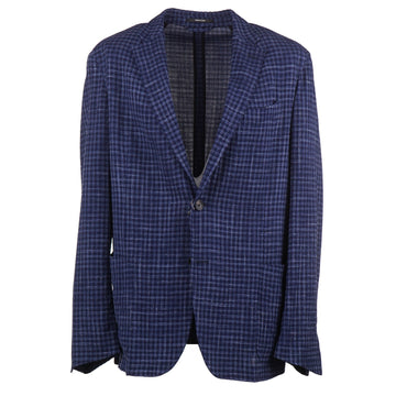 Ermenegildo Zegna Unlined Wool-Silk-Linen Sport Coat