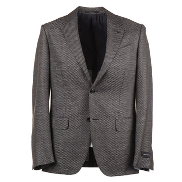 Ermenegildo Zegna Soft Woven Silk-Linen-Wool Sport Coat - Top Shelf Apparel