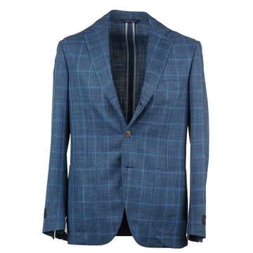 Belvest Soft-Constructed Wool and Silk Suit