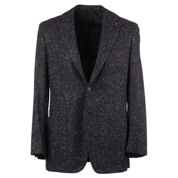 Kiton Melange Check Cashmere Sport Coat - Top Shelf Apparel