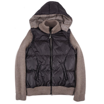 Cesare Attolini Knit Cashmere Jacket with Hood - Top Shelf Apparel