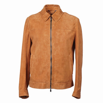 Cesare Attolini Lambskin Suede Bomber Jacket - Top Shelf Apparel