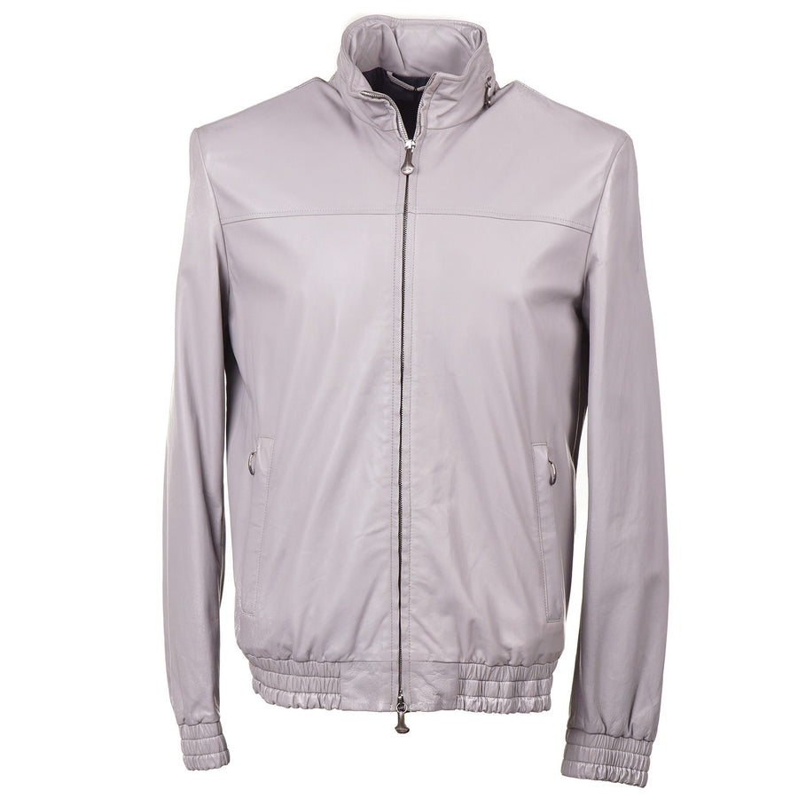 Cesare Attolini Lightweight Nappa Leather Jacket - Top Shelf Apparel