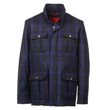 Isaia Flannel Wool Travel Jacket - Top Shelf Apparel