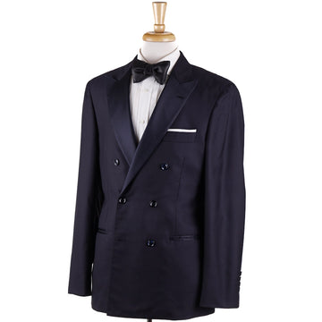 Brunello Cucinelli Navy Double-Breasted Dinner Jacket