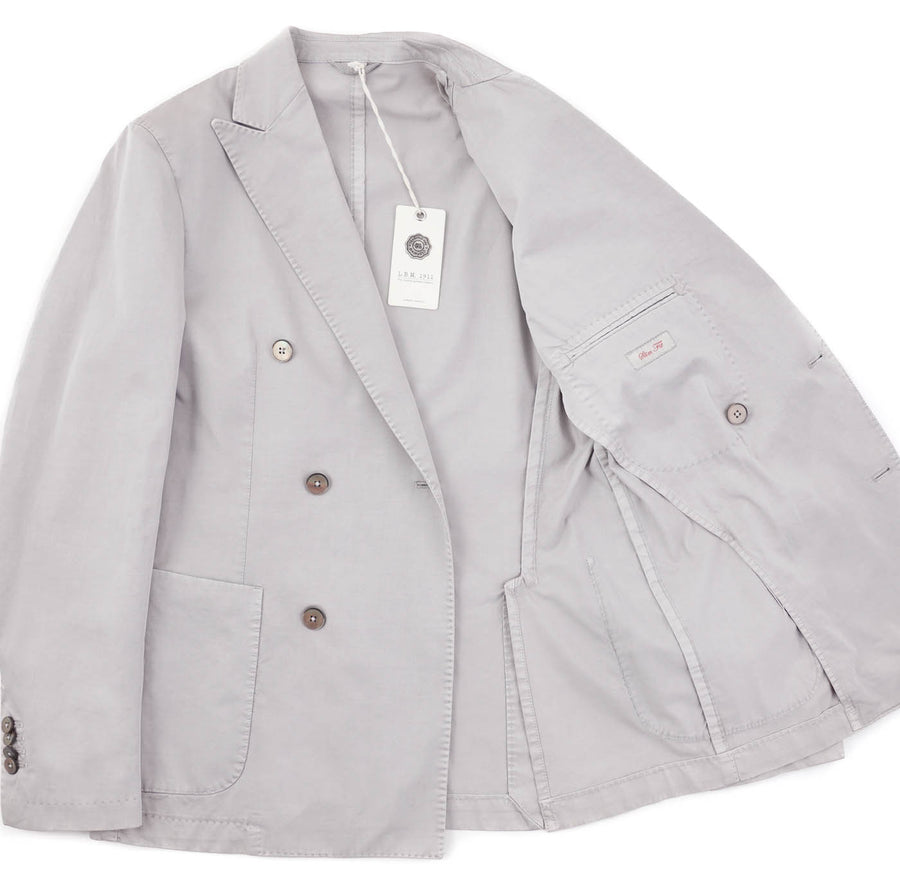 L.B.M. 1911 Double-Breasted Cotton Sport Coat