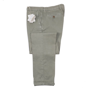 Brunello Cucinelli Slim-Fit Washed Cotton Pants