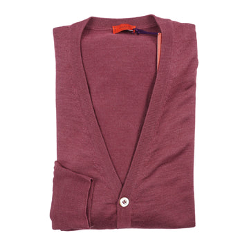 Isaia Superfine Cashmere and Silk Cardigan Sweater - Top Shelf Apparel