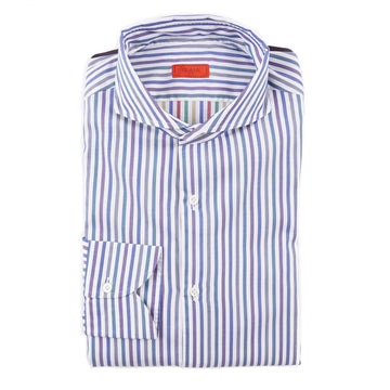 Isaia Slim-Fit Cotton Dress Shirt