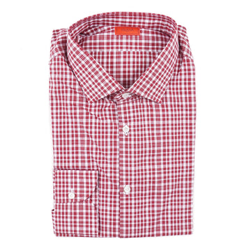 Isaia Slim-Fit Lightweight Cotton Dress Shirt - Top Shelf Apparel