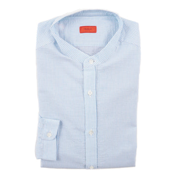Isaia Lightweight Textured Cotton Shirt - Top Shelf Apparel