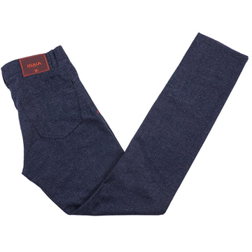 Isaia Soft Flannel Wool Jeans