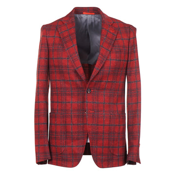 Isaia Slim-Fit Donegal Cashmere Sport Coat