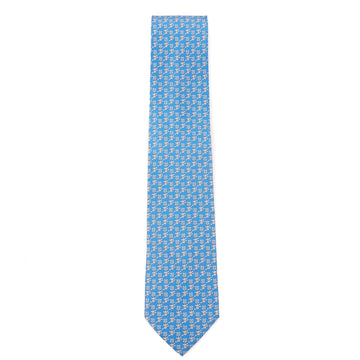 Salvatore Ferragamo Swinging Monkey Print Tie - Top Shelf Apparel