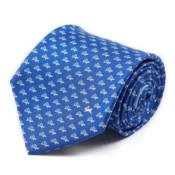 Salvatore Ferragamo Tortoise Print Tie - Top Shelf Apparel