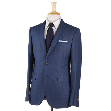 Boglioli Teal Blue Woven Wool Sport Coat