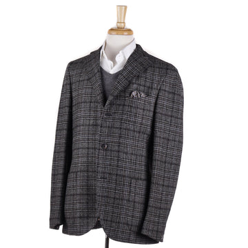 Boglioli Gray-Brown Check Wool Sport Coat - Top Shelf Apparel