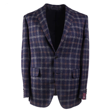 Sartoria Partenopea Layered Check Wool Sport Coat