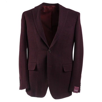 Sartoria Partenopea Burgundy Wool-Cashmere Sport Coat - Top Shelf Apparel