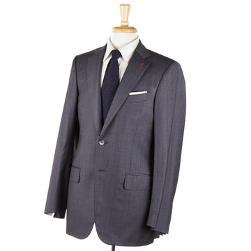 Isaia Gray Stripe Super 140s Wool Suit - Top Shelf Apparel