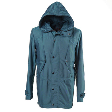Isaia 'Aqua Canvas' Hooded Parka - Top Shelf Apparel