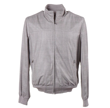 Cesare Attolini Cashmere-Silk Bomber Jacket - Top Shelf Apparel