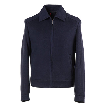 Brioni Wool-Silk-Cashmere Bomber Jacket - Top Shelf Apparel