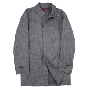 Isaia Lightweight Wool-Silk-Linen Overcoat - Top Shelf Apparel