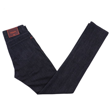 Isaia Slim-Fit Dark Denim Jeans - Top Shelf Apparel