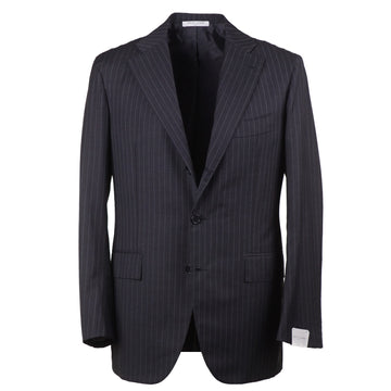 Orazio Luciano Gray Stripe Wool Suit - Top Shelf Apparel